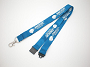 20mm Flat Soft Polyester Lanyard